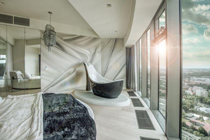 SKY TOWER Apartments  #Wroclaw #Wroclove #SkyTower #apartamenty #wnętrza #interiors #design #luxury