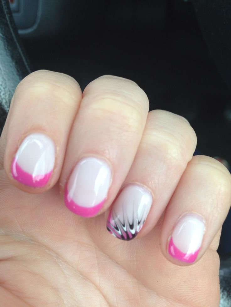 My summer shellac nails :-)