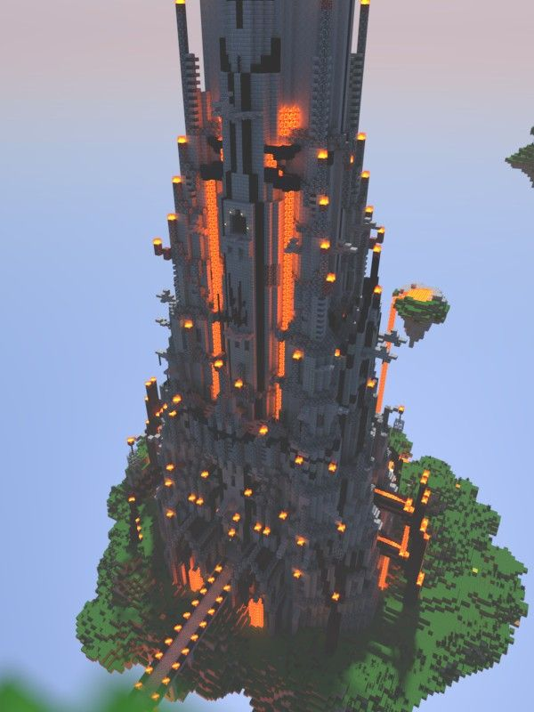 Steves Evil Tower of Ominousness Minecraft Map 2  minecraft stuff  Pinterest  Evil tower
