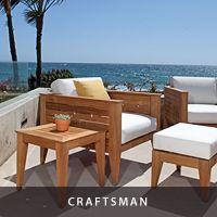 Craftsman Deep Seating Teak Sofa - Westminster Teak Furniture
