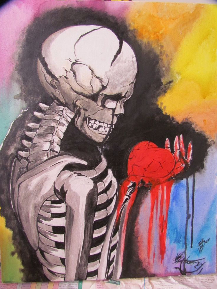 My bleeding heart by =eliantART