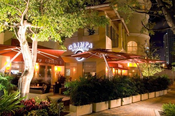 """Grimpa Steakhouse at Mary Brickell Village """"Brazilian Steakhouse"""" ~ Miami Food ReviewGRIMPA BRAZILIAN STEAKHOUSE where you can taste the best flavors!  Prime cuts - which bring out the best of the meat, careful and distinguished service, and outstanding side dishes, make Grimpa Brazilian Steakhouse a unique restaurant.  Enjoy the best of the Brazilian """"Churrasco"""" tradition in a classical environment. Taste and discover the pleasure of the Brazilian spices."""