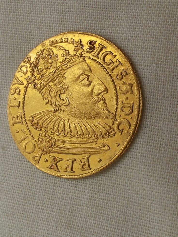 #coins #Sigismund III  #ducat  #1609  gold original  private Collection Eastern Europe