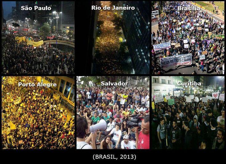 Protestos por todo o Brasil http://www.ronaud.com/
