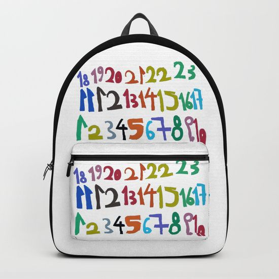 My first numbers! ....hand made painting, by Elisavet when she was 4 years old! 20% OFF + FREE WORLDWIDE SHIPPING ON ALMOST EVERYTHING #homedecor #decor #homedesign #interior #interiors #decoration #homestyle #homesweethome #society6 #tapestry #tapestries #love #new #life #beding #duvetcover #comforters #backpack https://society6.com/product/numbers-9fb_backpack?curator=azima