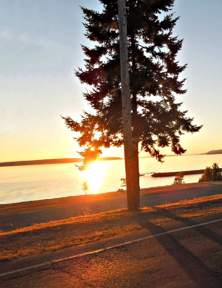 Powell River, B.C. Sunset