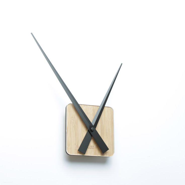 LOO DIY Wall Clock Bamboo The