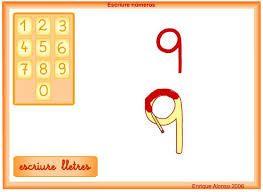 Tic direccionalidad de los números    http://serbal.pntic.mec.es/ealg0027/escribirnum.html