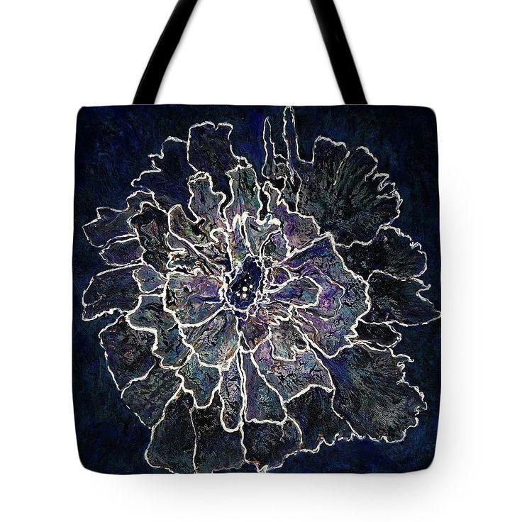 WE ARE ALL A LITTLE FRAGILE Tote Bag for sale by T. Fry-Green #fragile #jellyfish #flowerart #flowerpainting #totebag #toteforsale #originalpainting #artforsale #macongeorgiaartist #tfrygreen