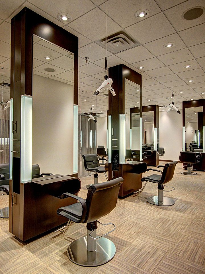 i love the idea of hanging blow dryer you can pull down i salon interior ideassalon design - Beauty Salon Design Ideas