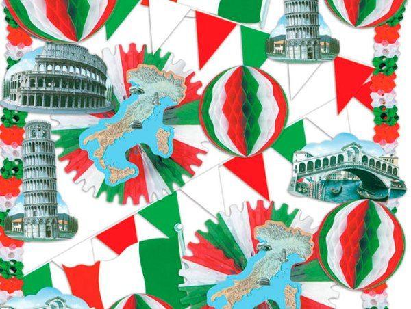 25 best ideas about italian themed parties on pinterest for Decoracion italiana
