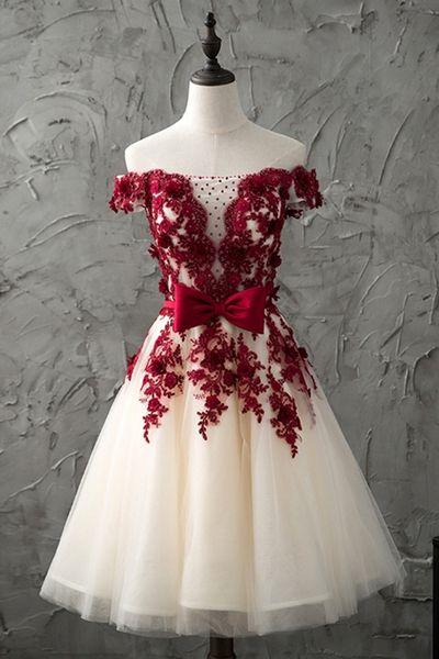 Charming Prom Dress, A Line Prom Dresses, Elegant