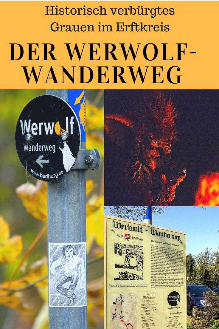 """Der Werwolf-Wanderweg rund um Alt-Kaster führt zu den Schauplätzen des Lebens von Peter Stubbe: Zu seinem Geburtsort und der Hinrichtungsstätte des """"Werwolfs"""". An Halloween findet hier eine spektakuläre Fackel-Wanderung statt."""