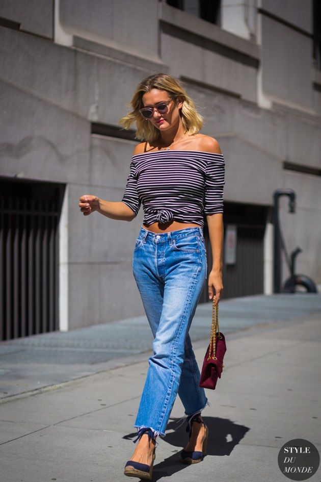 Stitch fix - this outfit is trendy but roped enough in classic style for me to try it - sort of updated Bridgette Bardot