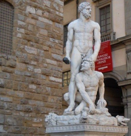 Socha Hercula - Florencie - Itálie