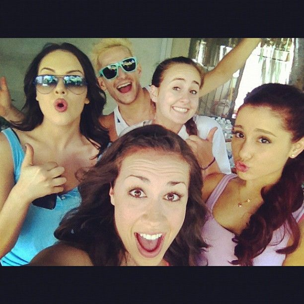 colleen ballinger and ariana grande relationship history