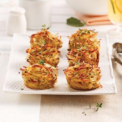 Röstis au parmesan et fines herbes - Recettes - Cuisine et nutrition - Pratico Pratique
