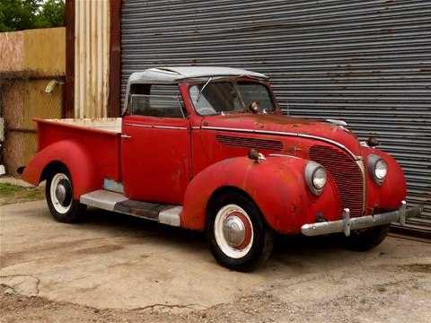 Rare Argentinian 1938 Ford Roadster Pick Up.