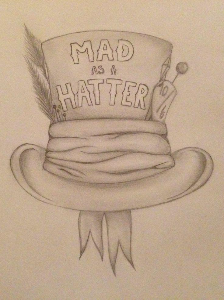Mad hatter alice in wonderland mad as a hatter