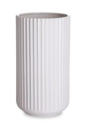 Lyngby vase - 25 cm, Hvid