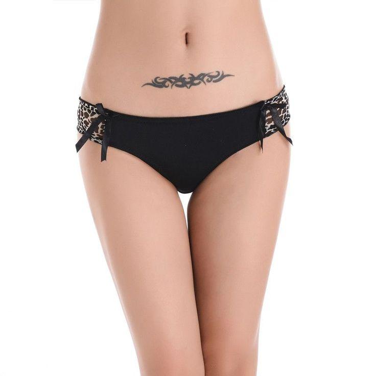 2016 Panties Underwear Women bragas thongs Women's Sexy women panties Sales Ladies Briefs Fashion Leopard underwear