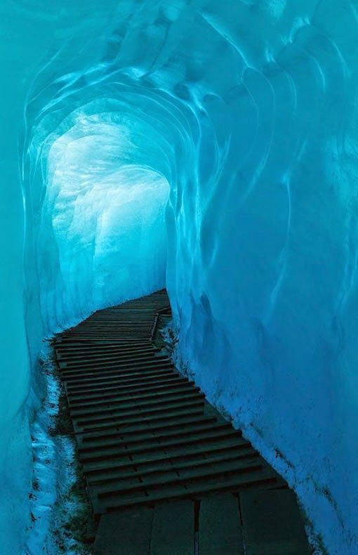 Rhône Glacier Switzerland
