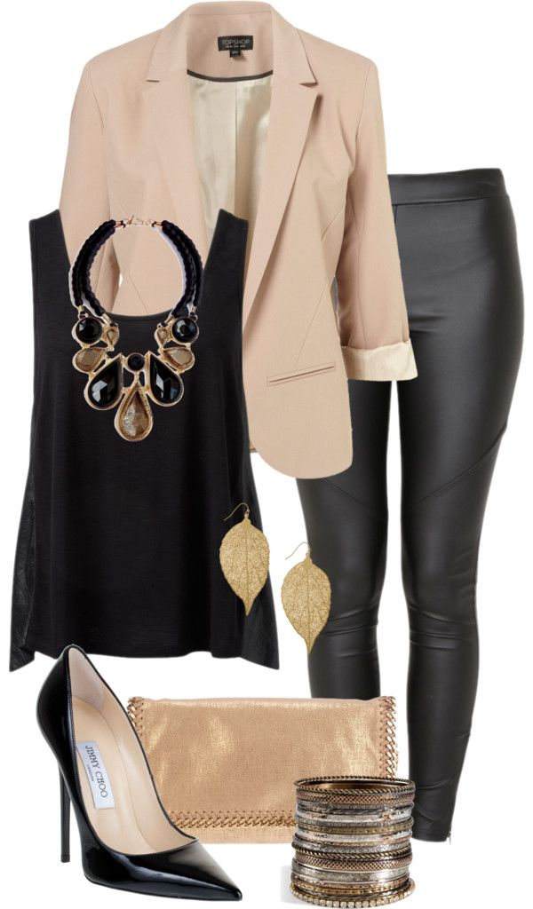 """Brown & Black"" by quianashinae on Polyvore"