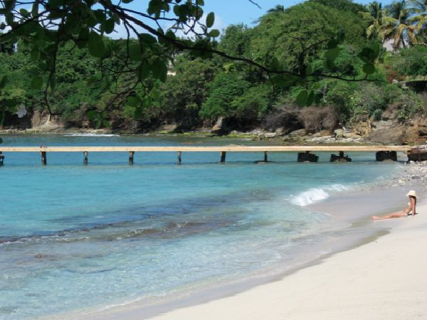 mustique with kids