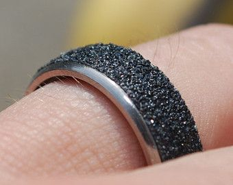 Skateboard Ring made from a Repurposed Skate Bearing & Real Grip Tape!