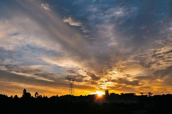 this morning's sunrise