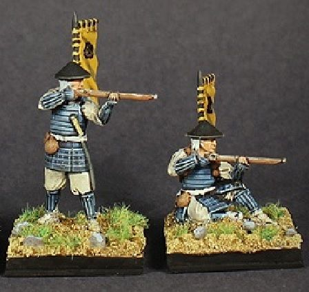 Oda Nobunaga S Famous Ashigaru Arquebusiers Samurai Wars