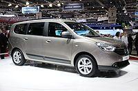 2012 Dacia Lodgy.
