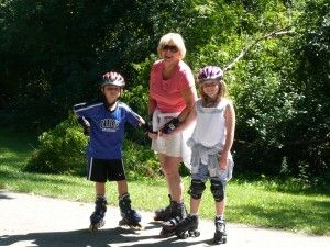 A rollerbladin' Grandma? Yes! #HealthyAging