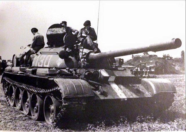 Polish T-55 Mod.1958 Prague spring