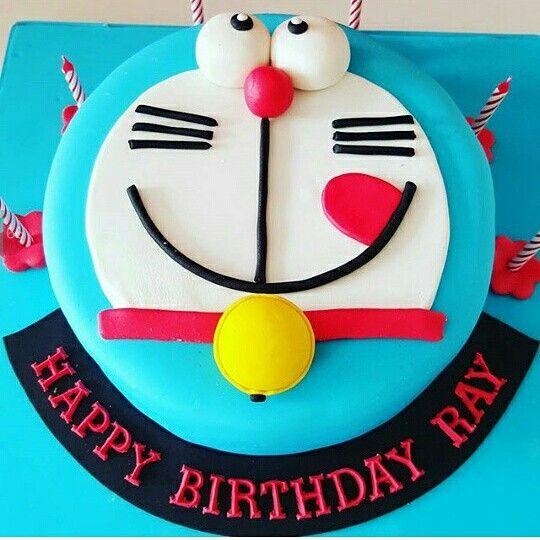 Doraemon birthday cake
