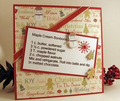 Maple Cream Bonbons recipe card