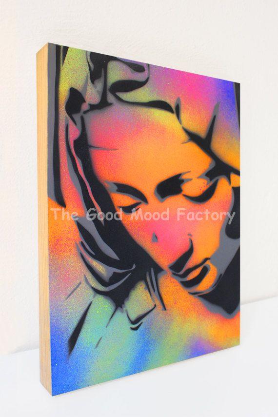 The Good Mood Factory_ Stencil Pietà_ Reinterpretation of