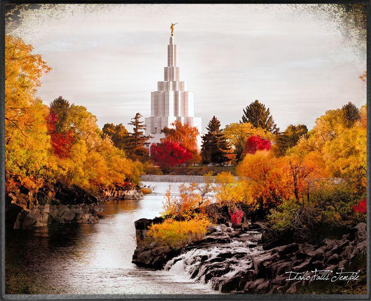 LDS Art Co - Idaho Falls Temple, Fall Colors Plaque, $49.95 (http://www.ldsartco.com/idaho-falls-temple-fall-colors-plaque/)