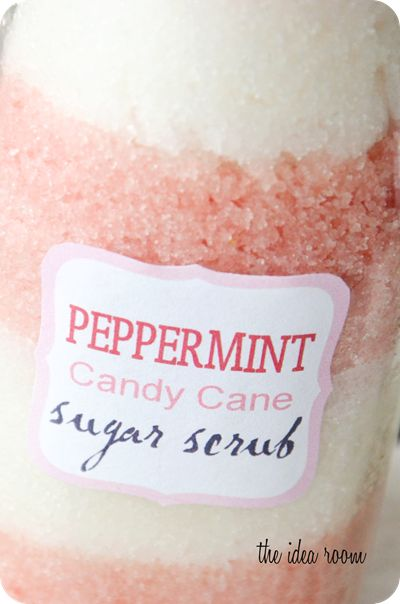 Peppermint Sugar scrub and links to other lovely scrub recipes.
