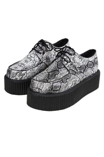 Fashion Serpentine Creepers OASAP.com I don't know how they feel about these on me but they might look good on someone else.