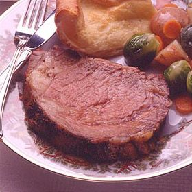 Garlic Prime Rib Recipe - So Good.  I usually make this fro Christmas dinner.