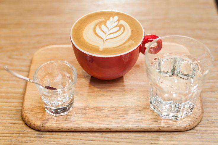 O cafea bună.