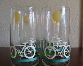 Anchor Hocking Glassware  Set of 8 vintage by AtomicHostess