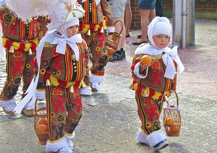 People Wearing Carnival Costumes