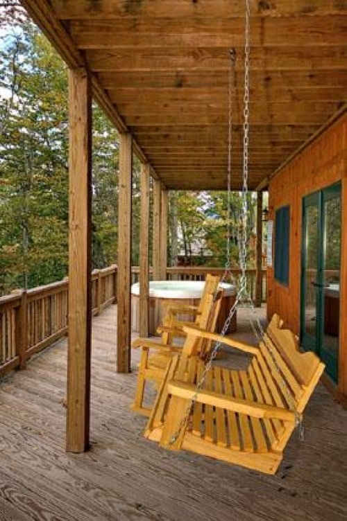 Mountain Time - Lower Level Deck
