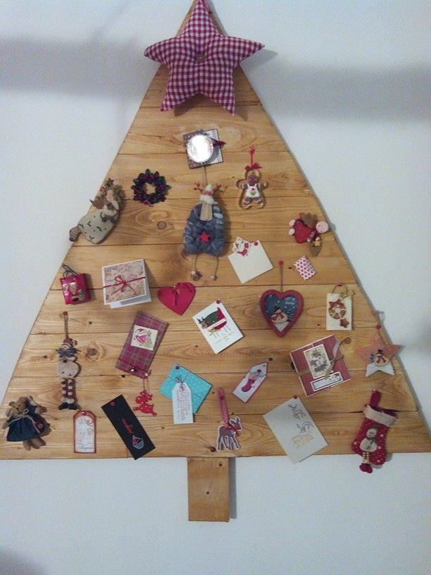 Christmas Tree notice board