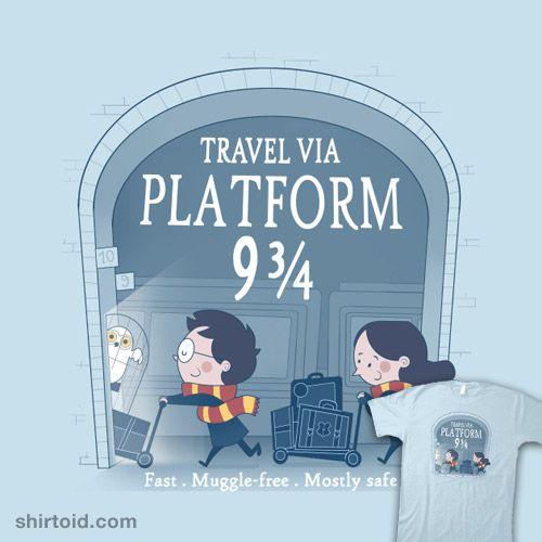 Travel via Platform 9 3/4
