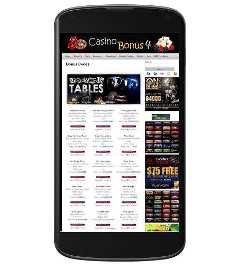 Review Casino Bonus Codes - No Deposit Required Casino Bonus