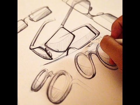 Industrial design sketching - Quick BiC pen exercises