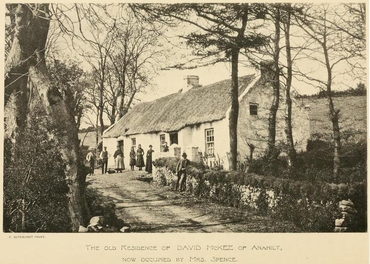 Residence of David McKee of Anahilt, Co. Down